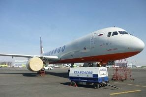 The two Transaero operated freighters TU-204-100C are very unlikely to be taken over by Aeroflot  /  courtesy UN