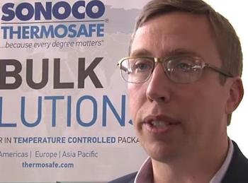 Sonoco ThermoSafe's Segment Director Ron Haub is happy his company has joined the Pharma.Aero community  -  photo: youtube