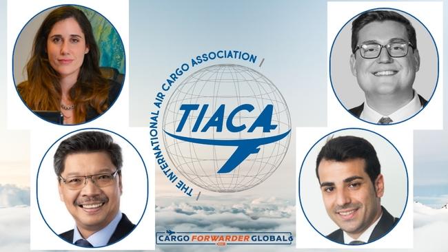 Four new members of the TIACA Board of Directors. Image: TIACA/CFG