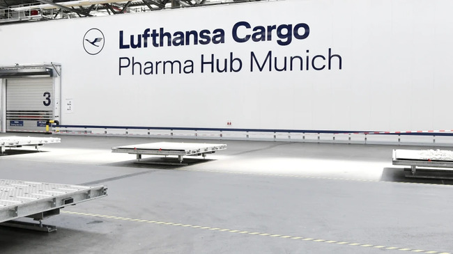 LH Cargo opened its state-of-the-art Pharma Hub Munich in August 2020, image: company courtesy