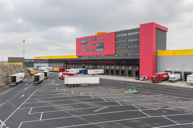DHL's Brussels hub is becoming too small, new solutions are needed to process the ever-rising flood of shipments – photo credit: DHL Express