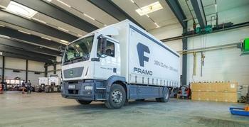 A huge fleet of hydrogen trucks in future. Image: Framo GmbH