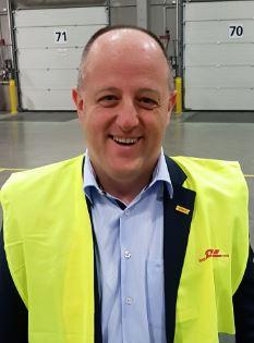 DHL-GF cargo manager David Bellon