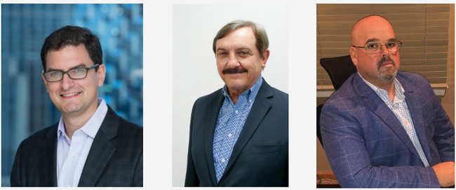 Ryan Hinkle, MD, Insight Partners, Eduardo Del Riego, CEO, PayCargo, Thomas Vieweg, Global Chief Growth Officer, PayCargo. Image: PayCargo