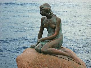 The mermaid is Copenhagen's most famous landmark