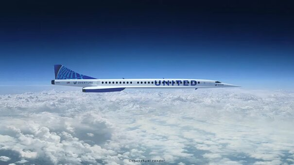 Twice the speed of any other aircraft in the sky today. Image: United Airlines