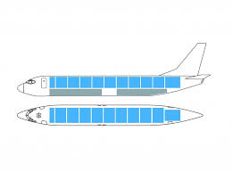 Safair B737-400F Configeration