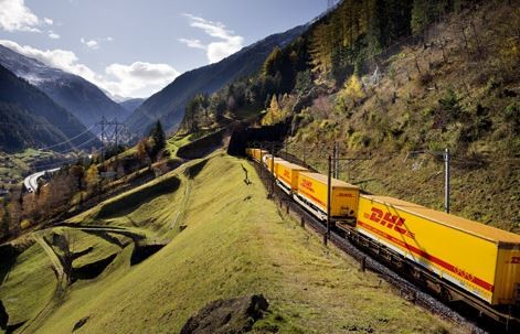 Trans-Eurasian cargo trains are increasingly challenging combined sea/air traffic solutions  /  source: DHL