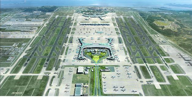 Incheon expansion includes the construction of a fourth runway