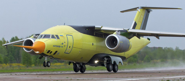 Antonov-built AN-178 prototype  -  company courtesy