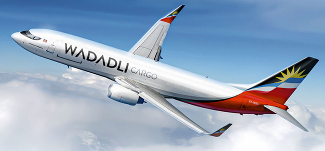 A new cargo airline is poised to lift-off in 2021. Image: Wadadli Cargo