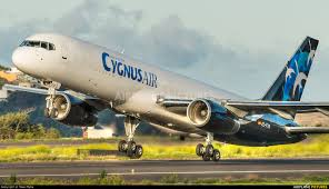 Boeing 757F of Cygnus Air