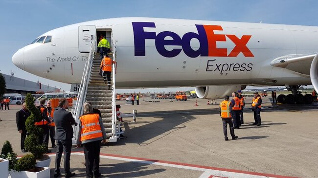 FedEx intends to axe 671 jobs at Liège, alarming the airport management,  photo: CFG / ms