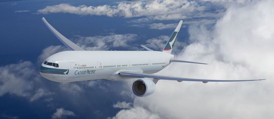 Cathay intends operating Boeing 777s into India, replacing Airbus A330s  -  courtesy CX