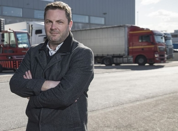 """""""Goodbye"""" and not """"farewell"""" – Cargo and Logistics mastermind Steven Polmans has left Brussels Airport  -  photo: CFG / hs"""