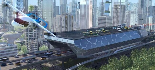 Boeing's futuristic vision of climate neutral mobility