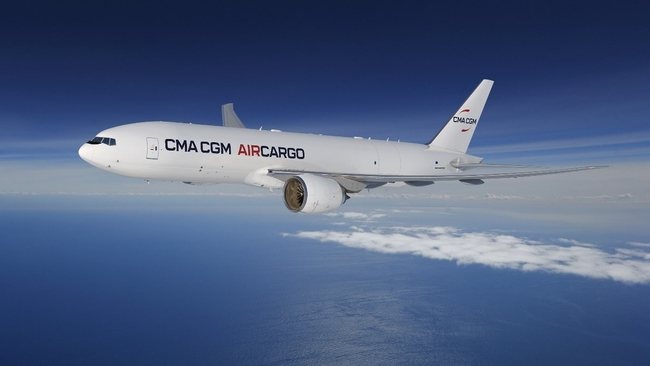 Ready for its own B777F aircraft, now. Image: CMA CGM