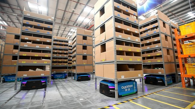 Smart warehousing on a massive scale. Image: Alizila