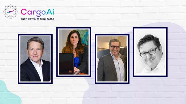 Advisory Board from left to right: Markus Flacke, Liana Coyne, Cyril Dumon, and Ricardo Pilon. Image: CargoAi