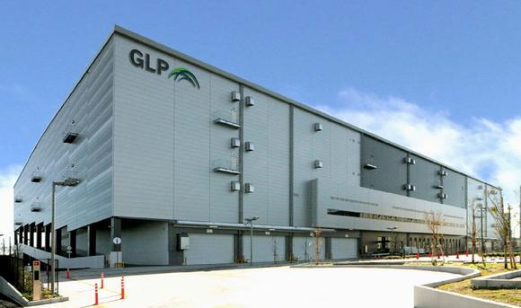 GLP's large-scale warehouse in Chiba Prefecture, Japan.