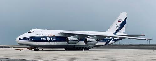AN124-100 back in the air again. Image: Volga-Dnepr