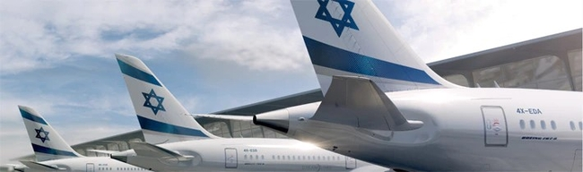 Booked with the click of a mouse. Image: El Al