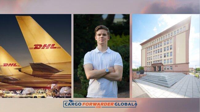 Moritz Lucas Hampel talks to CFG about his air cargo studies. Image: See sources below