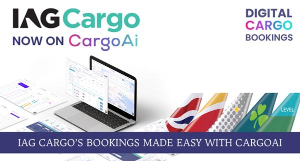 CargoAi now displays the IAG Cargo network. Image: Lemon Queen