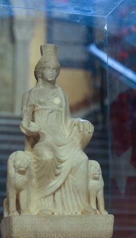 Mother Goddess Cybele returned home on board a TK 777 freighter -  photo Anadolu Agency