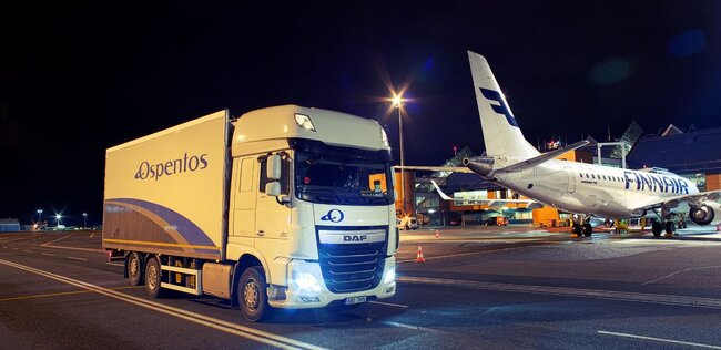 Carrying on together – Finnair and Ospentos. Image: Finnair Cargo