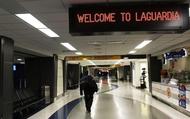 """Joe Biden once stated that New York La Guardia Airport """"feels like it's in some third world country."""""""