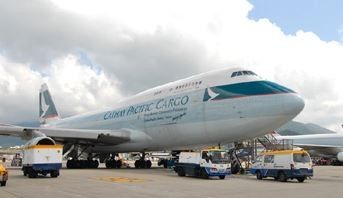 Hong Kong's Cathay Pacific reports a high e-AWB penetration  /  company courtesy