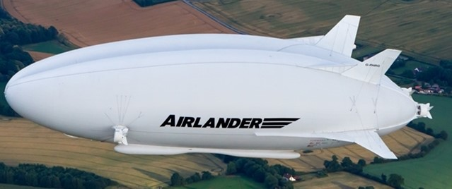 Airlander 10 – when will we see the big airship flying above our heads?  -  photo: HAV