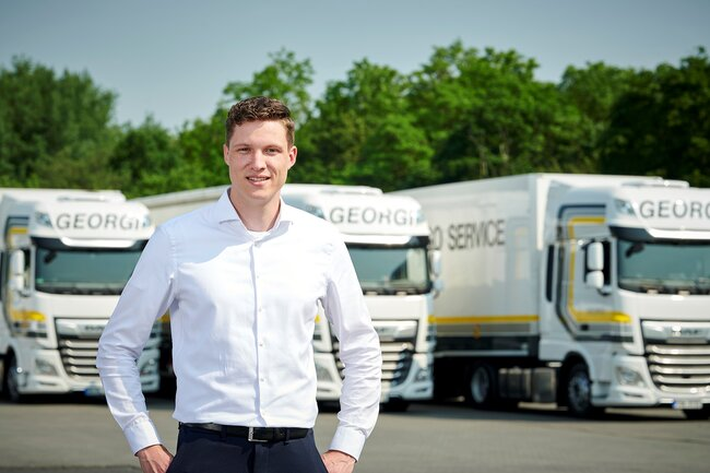 Christian Georgi is Head of Sales at Georgi Transporte GmbH & Co KG – images: company courtesy