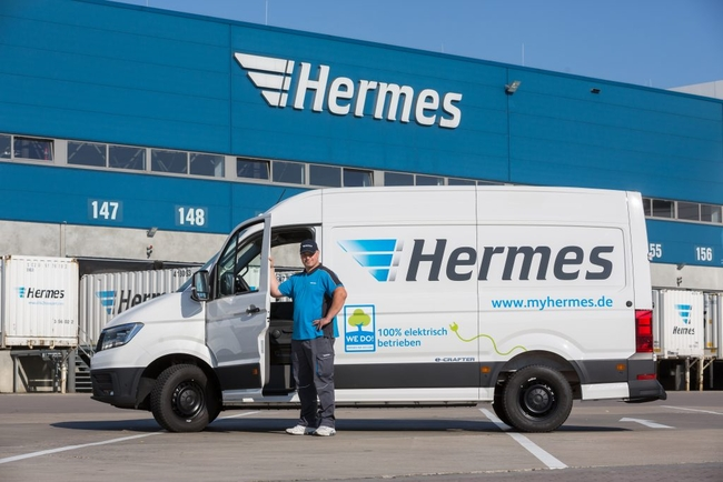 Otto's logistics arm Hermes operates a network in 24 European countries, delivering e-commerce items to the online shopper's doors  -  courtesy: Hermes
