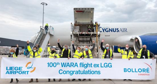 Yes! It's a century innings! Image: , Bolloré Logistics
