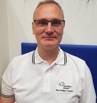 Max Conrady is Vice President Cargo at Rhine-Main operator Fraport - photo: CFG / hs