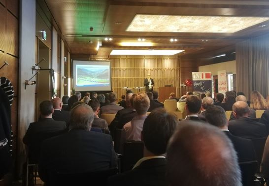 Full house at the 10th Lower Austria Logistics Day - Image © Gledhill