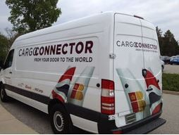 Sprinter operated by IAG Cargo for pickup and delivery services  - pictures courtesy IAG