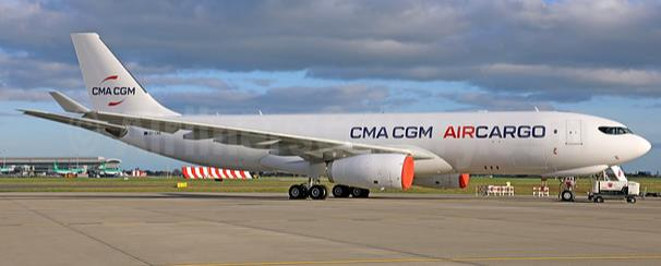 Freighters with this livery will soon be seen at airports and in the sky – photo courtesy of Paul Quinn