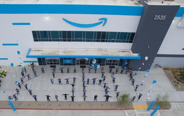 KSBD San Bernardino is open for business. Image: Amazon Air