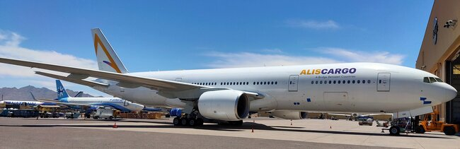 ALIScargo intends operating 2 B777 freighter aircraft  -  company courtesy