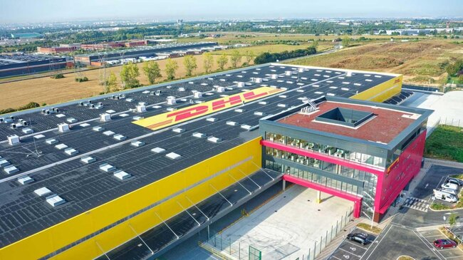 The result of a €170 million investment – images: DHL Express