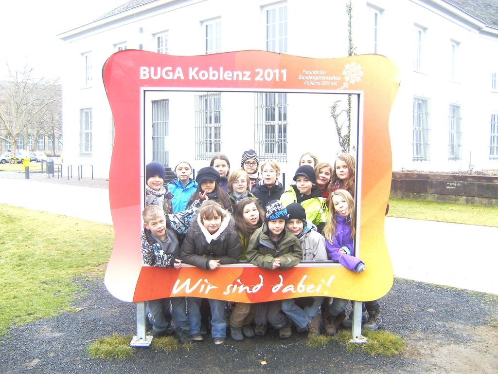 Wie schön, dass der Buga-Bilderrahmen noch steht...