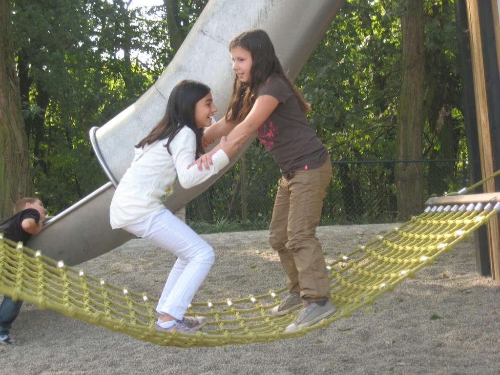 ... gute Freundinnen im Gleichgewicht...