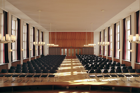 Conference: Auditorium Friedrichstraße, Hertie School of Governance