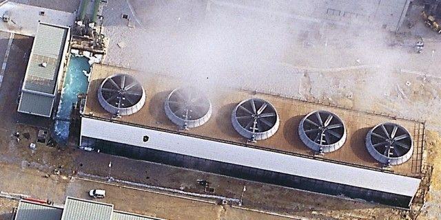 torre de refrigeracion industrial