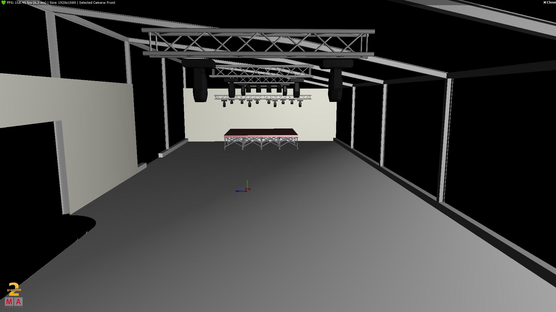 Dreidimensionaler Plan zur Veranschaulichung vor Projektbeginn