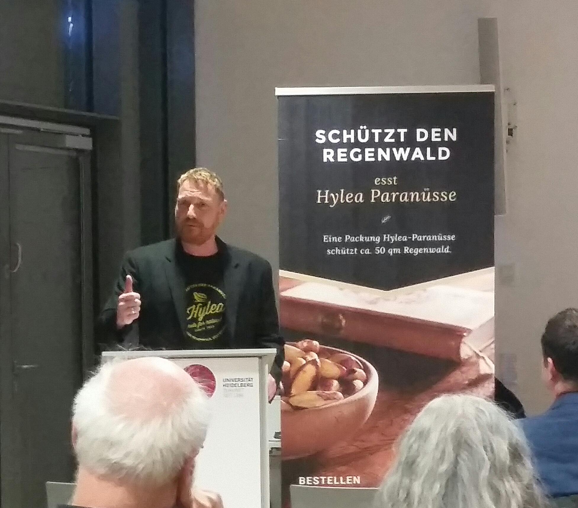 Herr Klaus Karch, Hylea Regenwaldprojekte AG