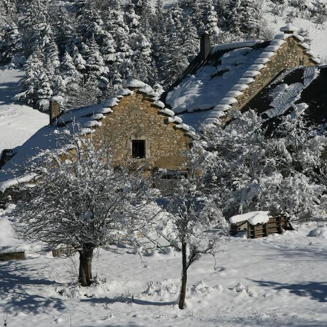 vercors hiver gite lauzes